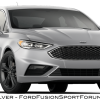 2017 Ford Fusion Sport - Ingot Silver