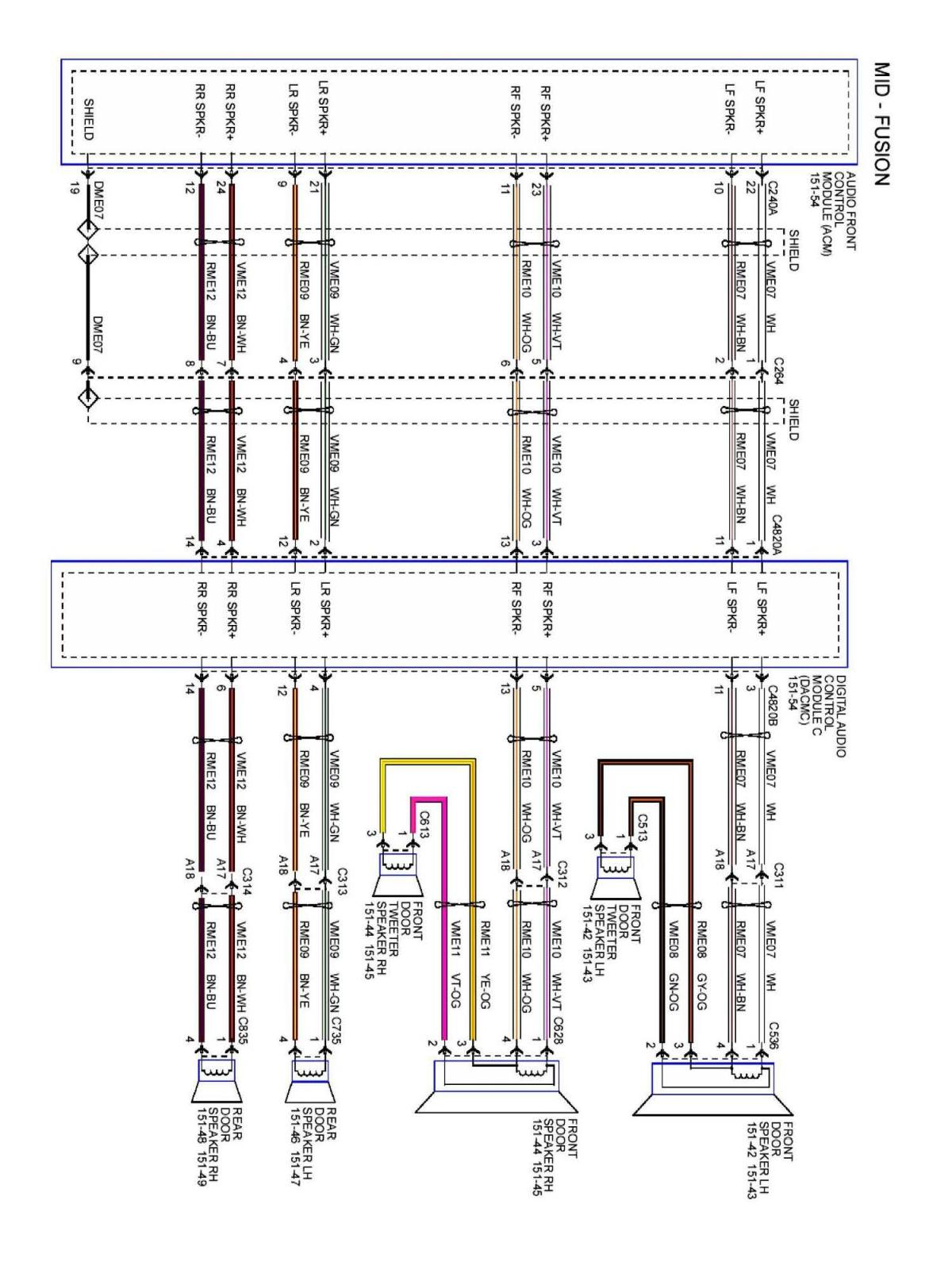 post 28793 0 03577400 1457001803 2013 2014 fusion mft wiring speaker diagrams? audio, navigation 2013 ford fusion speaker wire diagram at edmiracle.co